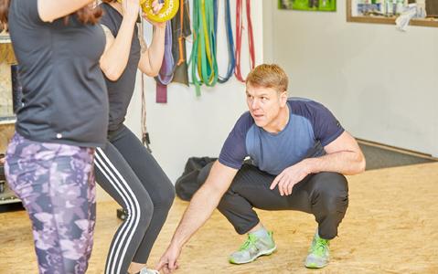 Personaltrainer, Lars Jonatschek-Neubauer, Team-/Gruppentraining
